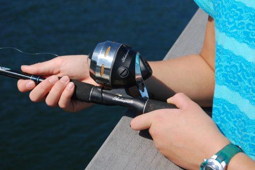 CANNA DA PESCA + Mulinello Per Pescatore EUR 10,29